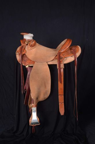 """Kody Featherston 15 1/2"""" Wade Saddle for Sale - For more information click on the image or see ad # 42774 on www.RanchWorldAds.com"""