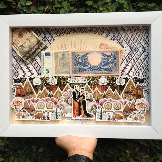 This is incredible! Unique work by  Jakartapopupcard http://www.bridestory.com/jakartapopupcard/projects/pop-up-frame-mahar