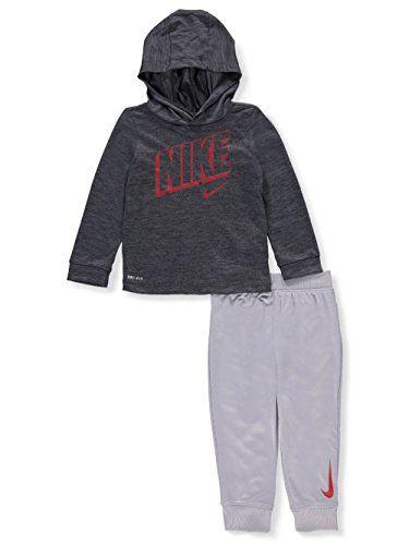 681143863 Best Seller NIKE DRI-FIT Hoodie Jogging Pants Set (Baby Boys) online ...