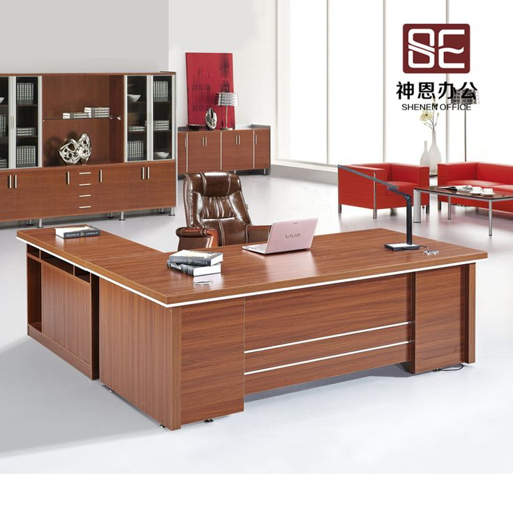 2015 New Arrival Wooden Solid Wood Modern Office Desks Office Desk Office Table Office Furniture