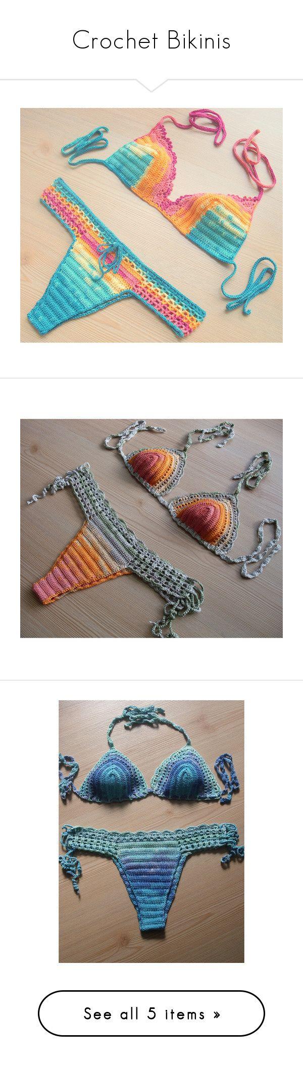 Seed bead ring ideas 5 nationtrendz com -  Crochet Bikinis By Fatma Erkal On Polyvore Featuring Swimwear Bikinis Silver