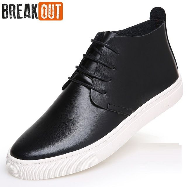 Good price Break Out New Men Winter Boots Snow Boots for Men Leather Ankle Boots High Top Lace Up Breathable Fashion Men Shoes just only $23.99 with free shipping worldwide  #menshoes Plese click on picture to see our special price for you