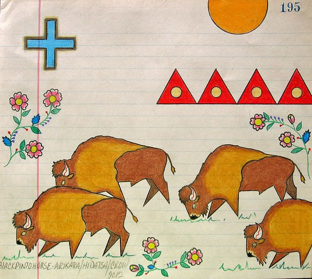 Ledger Art Of Elk : Best images about black pinto horse native am ledger