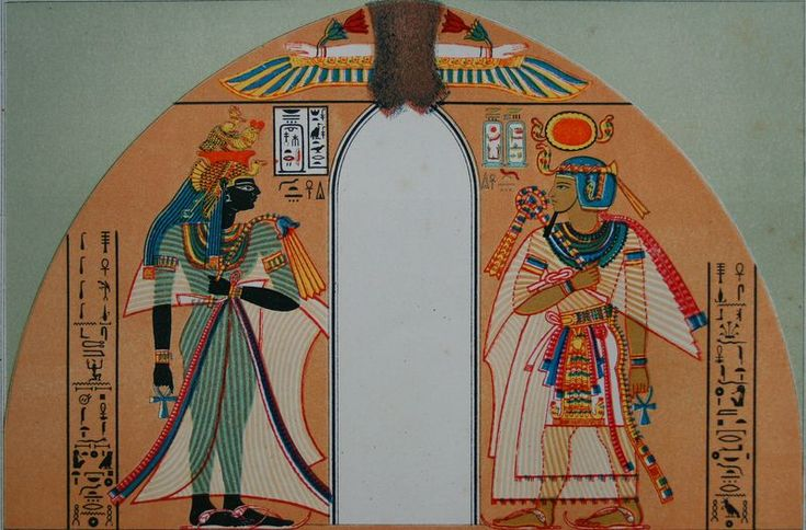 Queens in Ancient Egypt - Queen Ahmose Nefertari and Pharaoh Amenhotep I (Wikimedia Commons Public Domain)