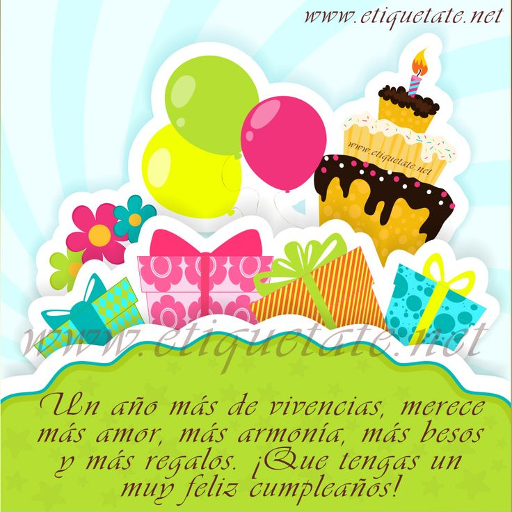 feliz cumpleanos sobrina | 64 Imágenes de Feliz Cumpleaños para etiquetar en Facebook - Taringa ...