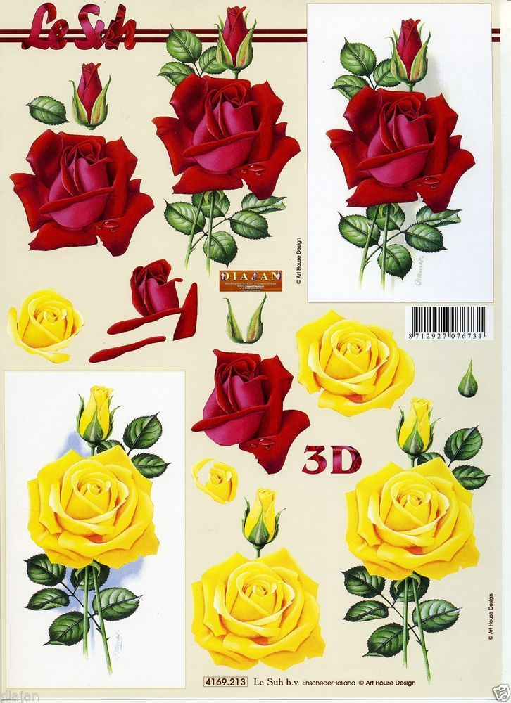 Connu 209 best Decoupage--3D PAPER crafts images on Pinterest | 3d cards  KX55