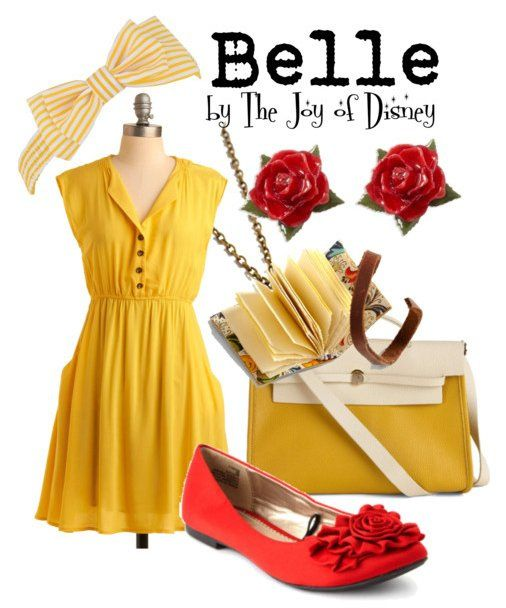 casual disney inspired outfits | The Joy of Disney: Belle (Beauty & the Beast)
