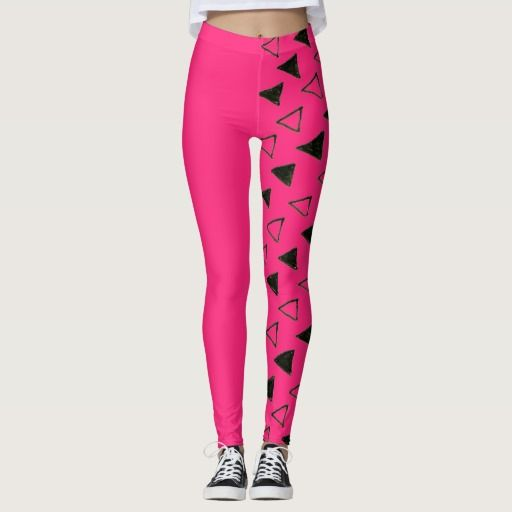 Designers fresh girly leggings : with triangles