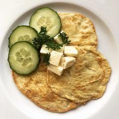 Low Carb Pfannkuchen mit Konjakmehl – herzhaft – glutenfrei