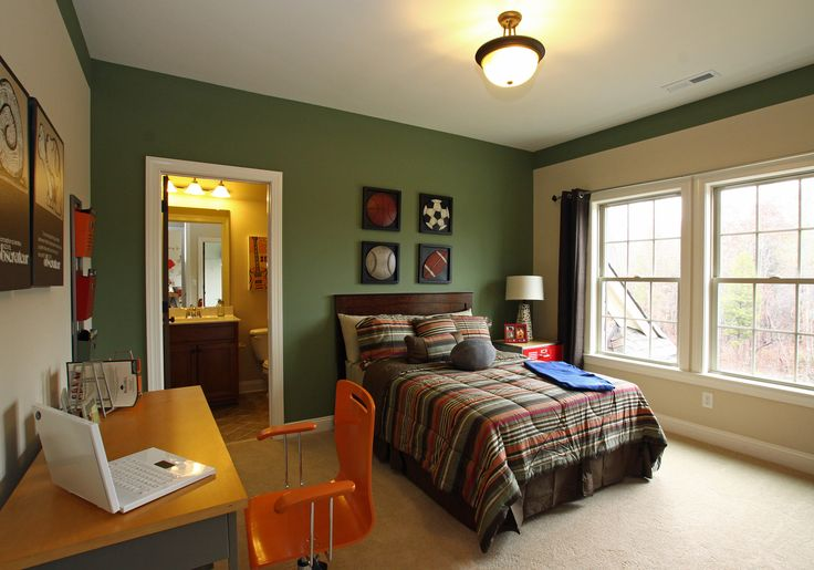 Pin by shannon payne on b 39 s room pinterest - Paint color schemes for boys bedroom ...