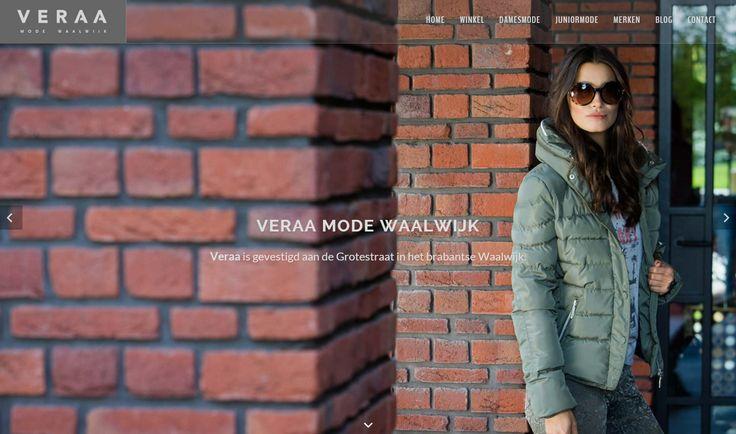 Website Veraa Mode Waalwijk
