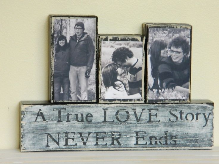 Personalized Wedding gift/Decoration Happily Ever After wedding, shower, anniversary, Christmas black and white wedding shabby chic sign. $23.00, via Etsy.