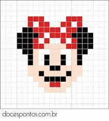 Myndaniðurstaða fyrir mickey mouse perler bead patterns