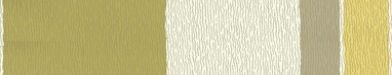 Acacia Stripe (15823) - Harlequin Wallpapers - A pretty 4 colour stripe in different widths overlaid with fine metallic lines. Can be used alone or with the Acacia design. Available in 5 colourways – shown in the cream, brown and lime greens version. Please ask for sample for true colour match.