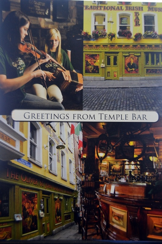 Temple Bar in Dublin #PostCrossing