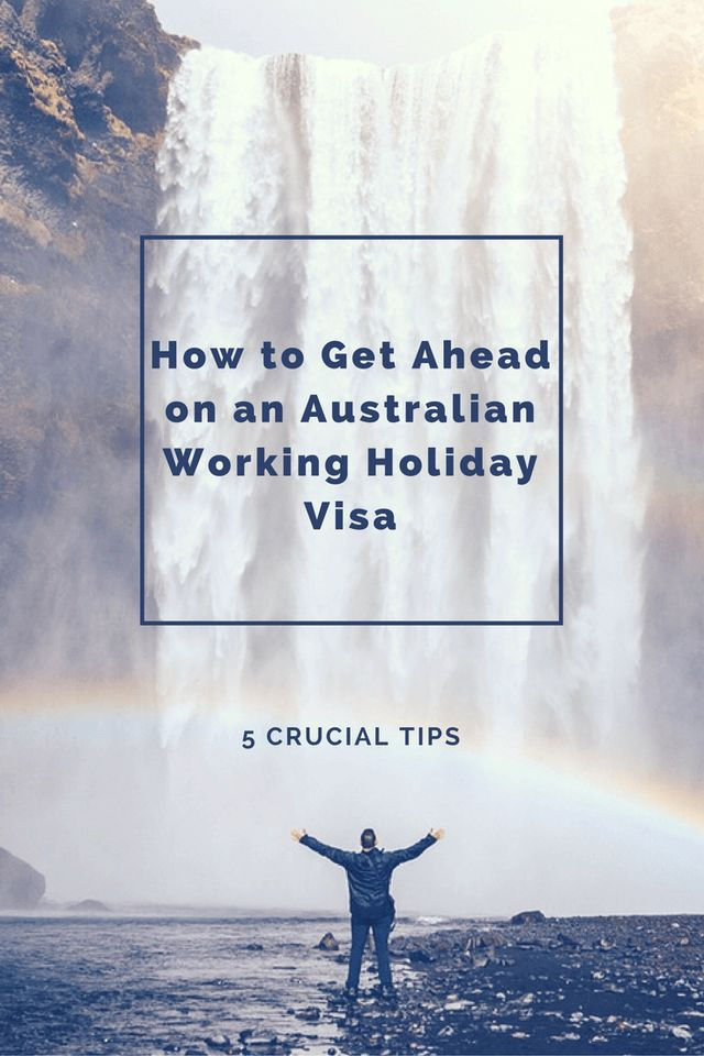 Want to get off to a great start on your WHV and beat the other jobhunters? See my crucial tips.  Before you even land in Australia you need these tips will help you get a job and start saving money quickly on your Australian Working Holiday Visa.