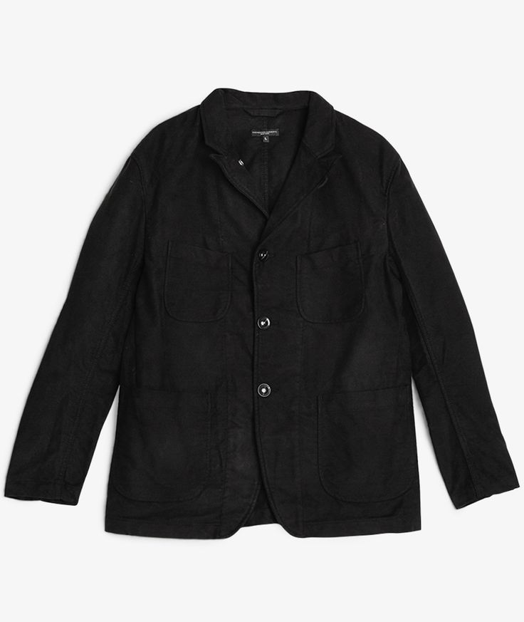 Engineered Garments // Bedford Jacket Moleskin Black