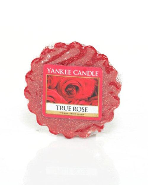 True Rose - Alluring, rich and velvety... True Rose is as fragrant as a bouquet of flawless deep red roses. Nature's beauty blossoms in the sweet romantic scent of soft, red petals.  Simply place in a wax potpourri warmer (never add water) and light an unscented tea light below, or use one of our electric warmers. As the wax melts, the fragrance is released. Mix and match scents to create your own personal aroma blends