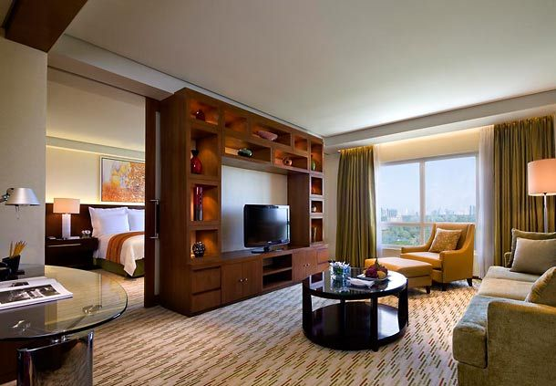 Manila Marriott Hotel Junior Suite Comfortable Hotels Guest