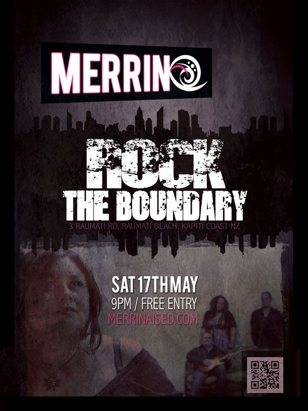 Our poster for the Farewell gig (Karl & Charlie's, before they left for America) at The Boundary in Raumati - which went OFF!! :) #Rock #Raumati