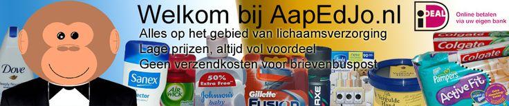 AapEdJo.nl is een voordeel webwinkel met een ruime keuze aan lichaamsverzorgingsproducten van bekende merken.