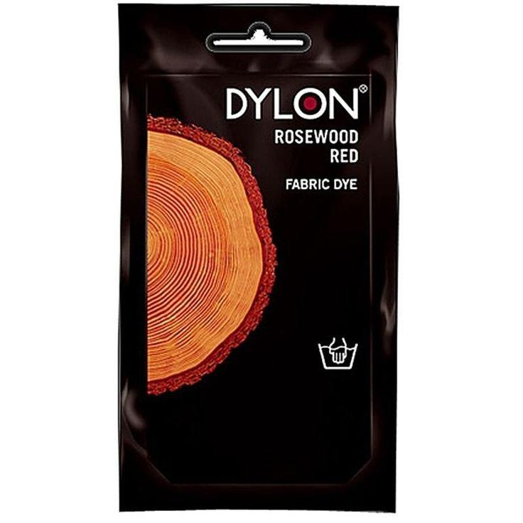 DYLON Elde Boyama - Gül Ağacı Kırmızı - Rosewood Red Fabric Dye - Elde Boyama www.gagva.com.tr