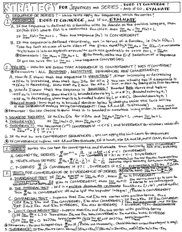 Calc 2 - Sequences & Series 3