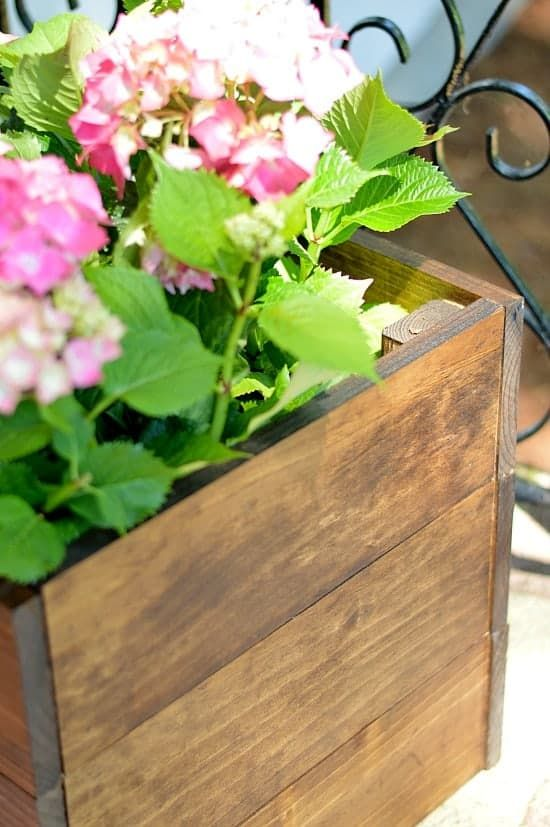 Diy Wood Planter Box Diy Planters Pinterest Planters Diy Wood
