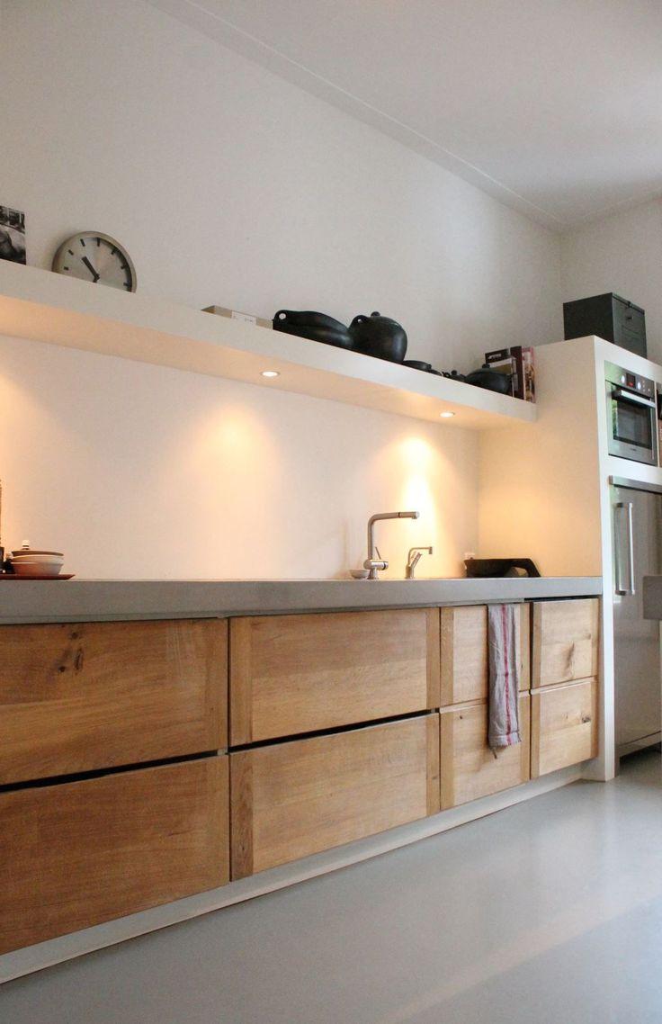 Oltre 25 fantastiche idee su moderno stile rustico su - Cucine in muratura stile moderno ...