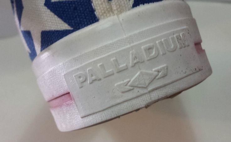 Scarpe Vintage alte modello Converse bandiera americana Palladium