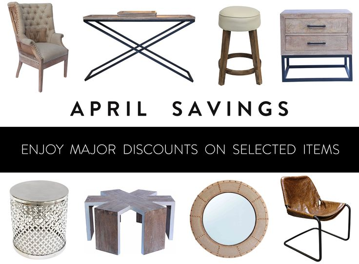 April savings in store now.