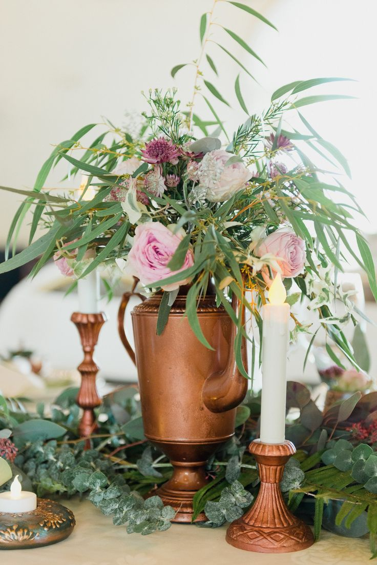 Vintage Teaparty Eclectic Wedding  by Satori Art & Event Design