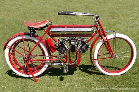 1913 Marsh Metz Motorcycle.