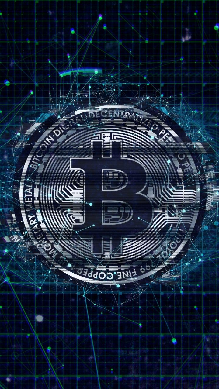 Crypto Bitcoin Digital Art Currency Abstract 720x1280 Wallpaper Cryptocurrency Bitcoin Logo Bitcoin Cryptocurrency