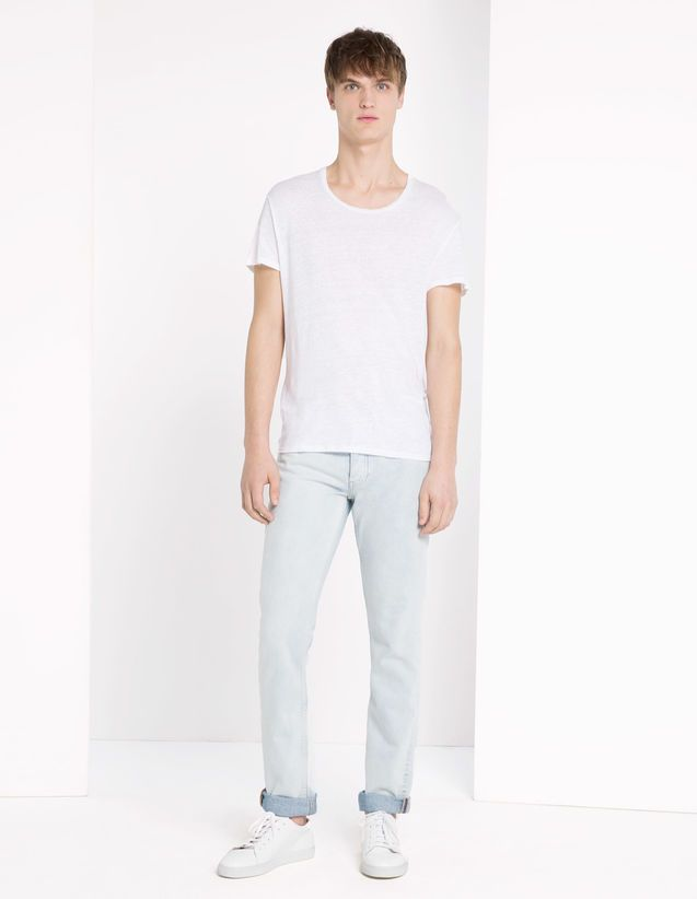 Paint Blur Jeans - Mens Private Sale - Sandro Paris