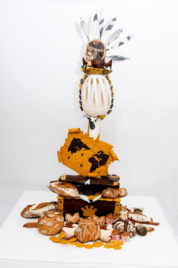 [SPANISH TEAM - Europe Selection]  Artistic piece by Unai ELGEZABAL ALVAREZ  #BakeryLesaffreCup #Europe #SPAIN #bread #baking  (crédit photo @ClémentineBéjat)