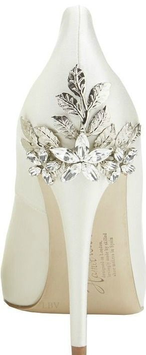 ✤ Harriet Wilde Marina Daisy - Wedding Shoes   LBV ✤
