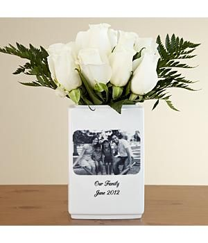 30 best 9th anniversary gifts images on pinterest leather 9th anniversary gift idea a fab pottery vase and you get to choose the photo negle Choice Image