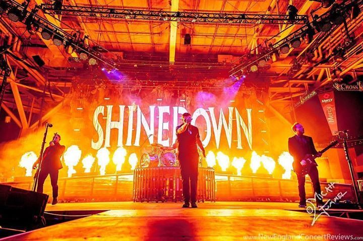 #Repost @newenglandconcertreviews: #Shinedown @ the Cross Insurance Arena - ME @shinedown @cross_arena  Photographer: Micah Gummel See more coverage from the show at newenglandconcertreviews.com - facebook.com/ShinedownsNation