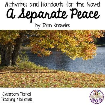 the significance of the title of the novel a separate peace by john knowles Text complexity analysis of a separate peace by john knowles reviewed by deb kohn, smoky valley usd 400, dkohn@smokyvalleyorg levels of meaning/purpose: with more than one level of meaning and considered a model coming-of-age novel.