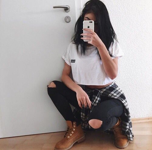 Fashionable Clothes Shoes Jeans Lipsticks Nail Polish: 1000+ Ideas About Cute Timberland Outfits On Pinterest