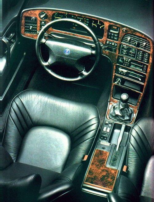 Saab 9000 Aero interior - miss mine