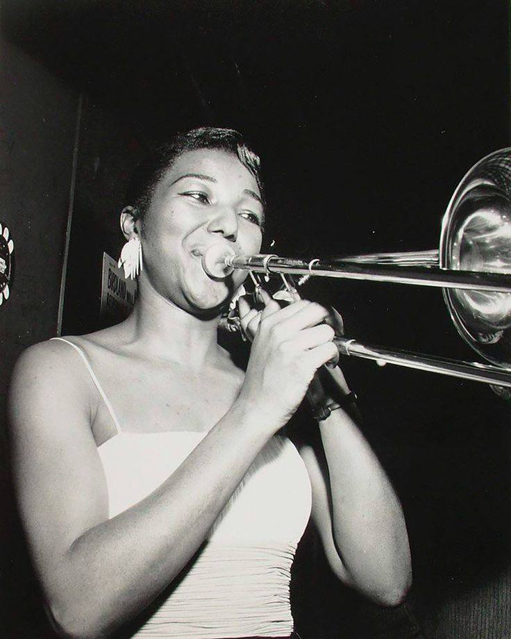 Melba Liston - female jazz pioneer who played trombone for Dizzy Gillespie, Quincy Jones, and Clark Terry.