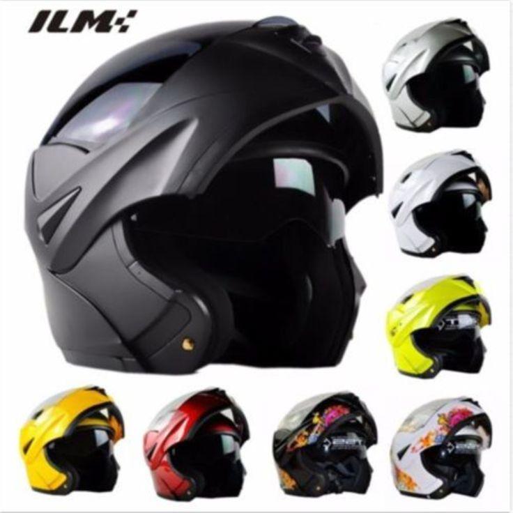 Approuvé DOT Moto Casque avec Visière Soleil Intérieur Flip Up sécurité À Double Lentille À Double Visière Racing Motocross Quad Dirt Bike casque