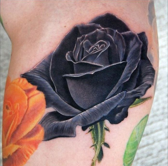The 25 Best Black Rose Tattoos Ideas On Pinterest Small Tattoo Henna And Beautiful