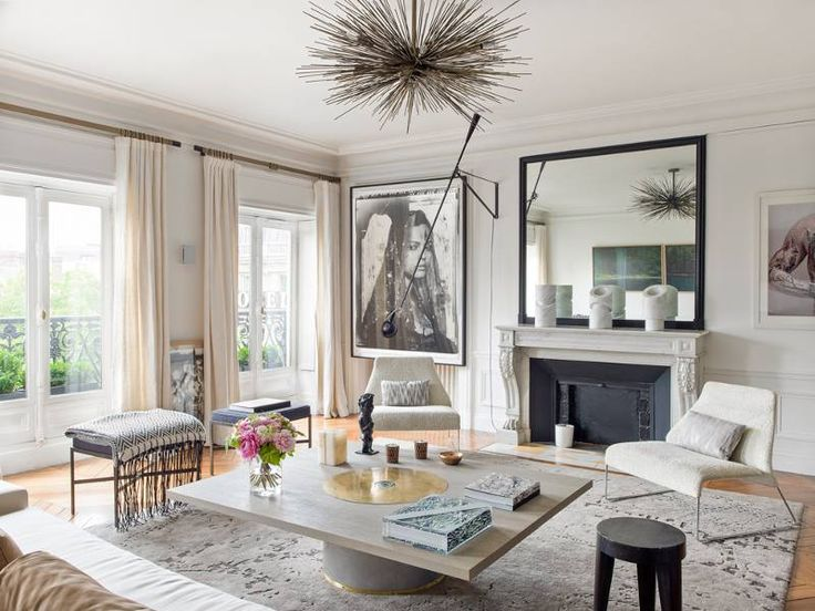 724 best archdeco//parisian images on Pinterest | Living spaces ...