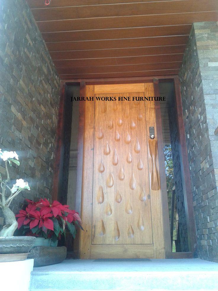 Rain Drop Narra Door