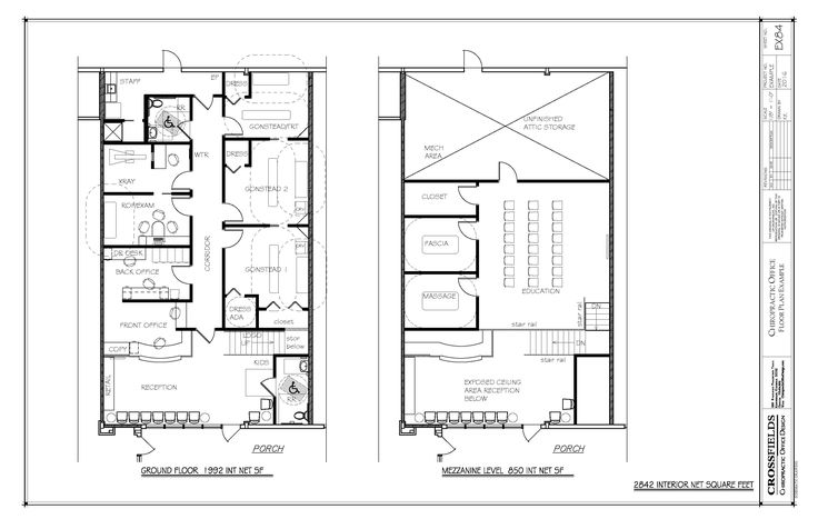 Les 132 meilleures images du tableau chiropractic floor for Acheter des plans architecturaux