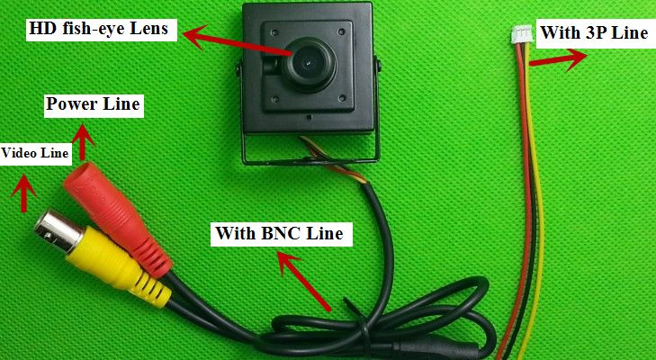 Купить товарHd 700TVL рыбий глаз объектив 2.1 мм 140 град. мини печатных плат FPV крошечный мини широкоугольный объектив камеры 2015 новый в категории Камеры скрытого видеонаблюденияна AliExpress.