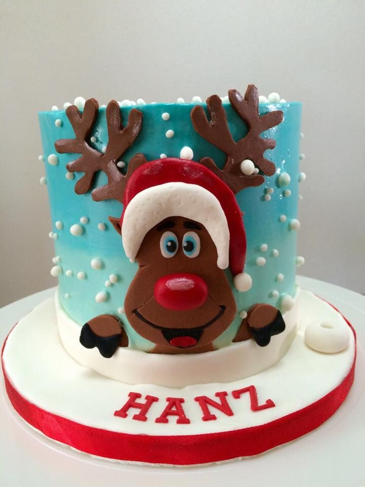 Christmas Cake Design 2018 : 17 Best images about Cakes for Christmas on Pinterest ...